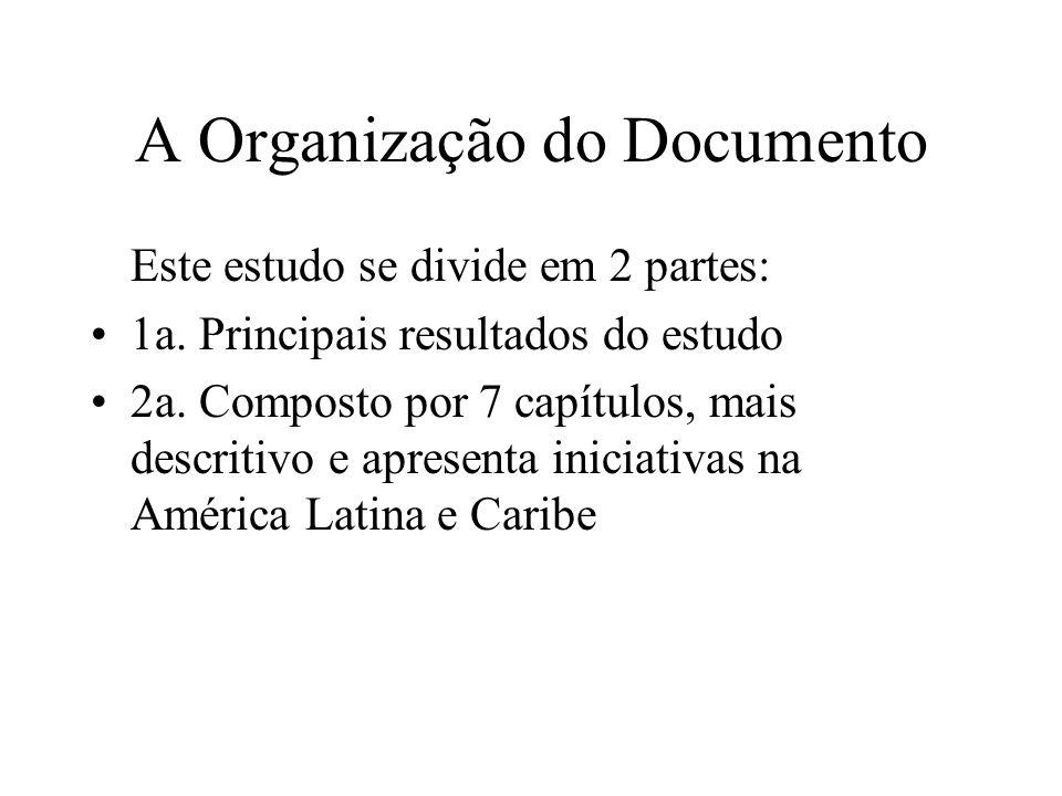 A Organização do Documento