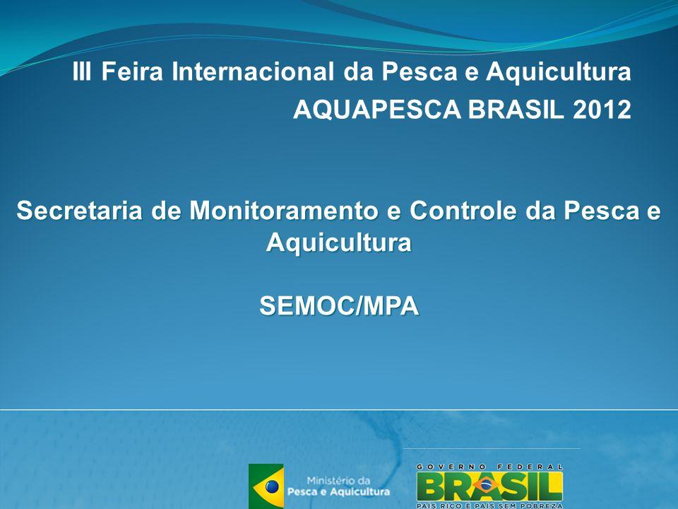 III Feira Internacional da Pesca e Aquicultura AQUAPESCA BRASIL 2012