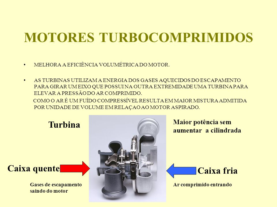 MOTORES TURBOCOMPRIMIDOS