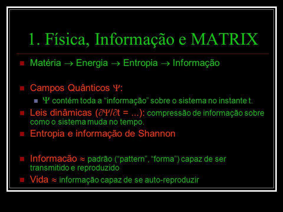 1. Física, Informação e MATRIX