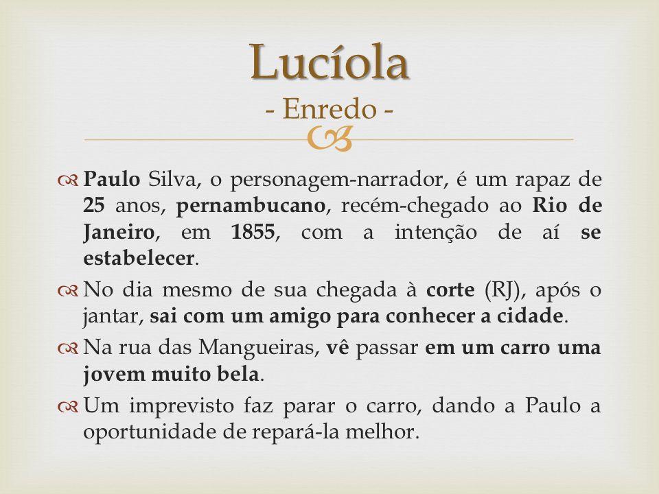 Lucíola - Enredo -