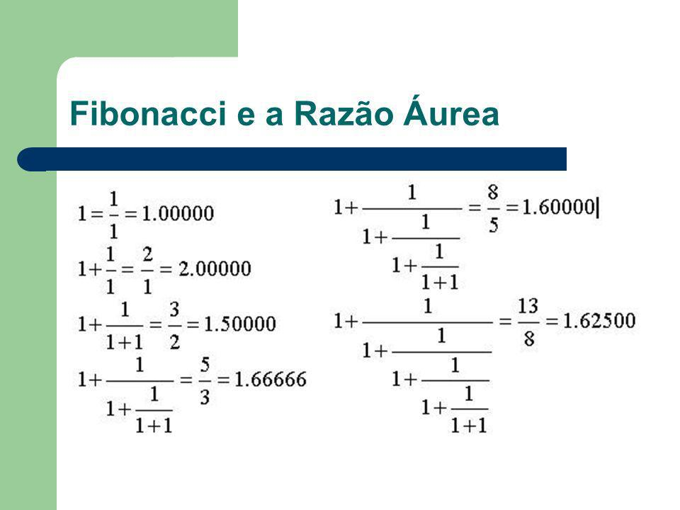 Fibonacci e a Razão Áurea