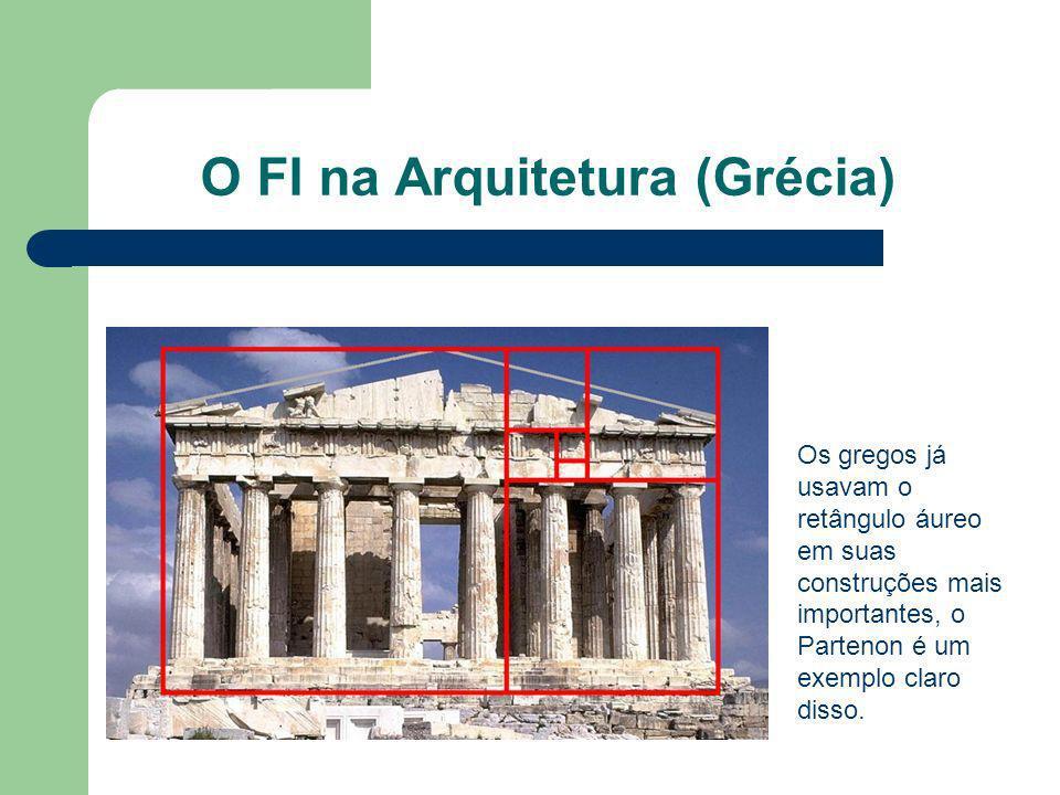 O FI na Arquitetura (Grécia)