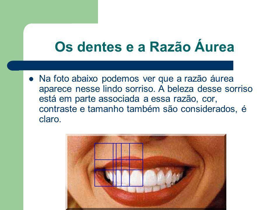 Os dentes e a Razão Áurea