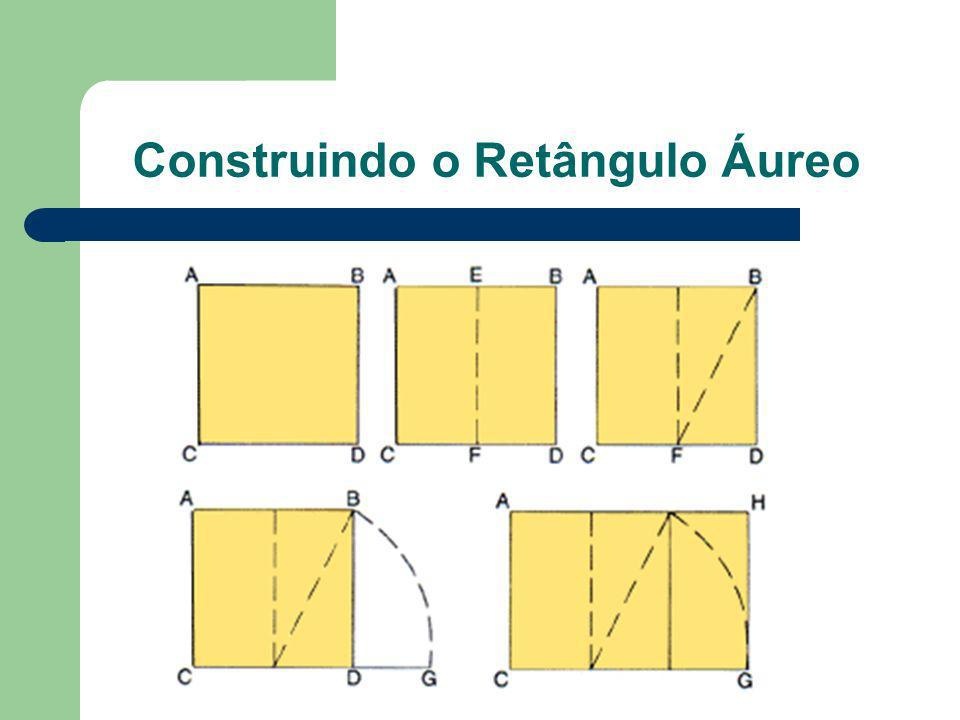Construindo o Retângulo Áureo