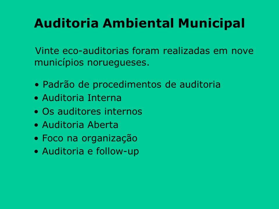 Auditoria Ambiental Municipal