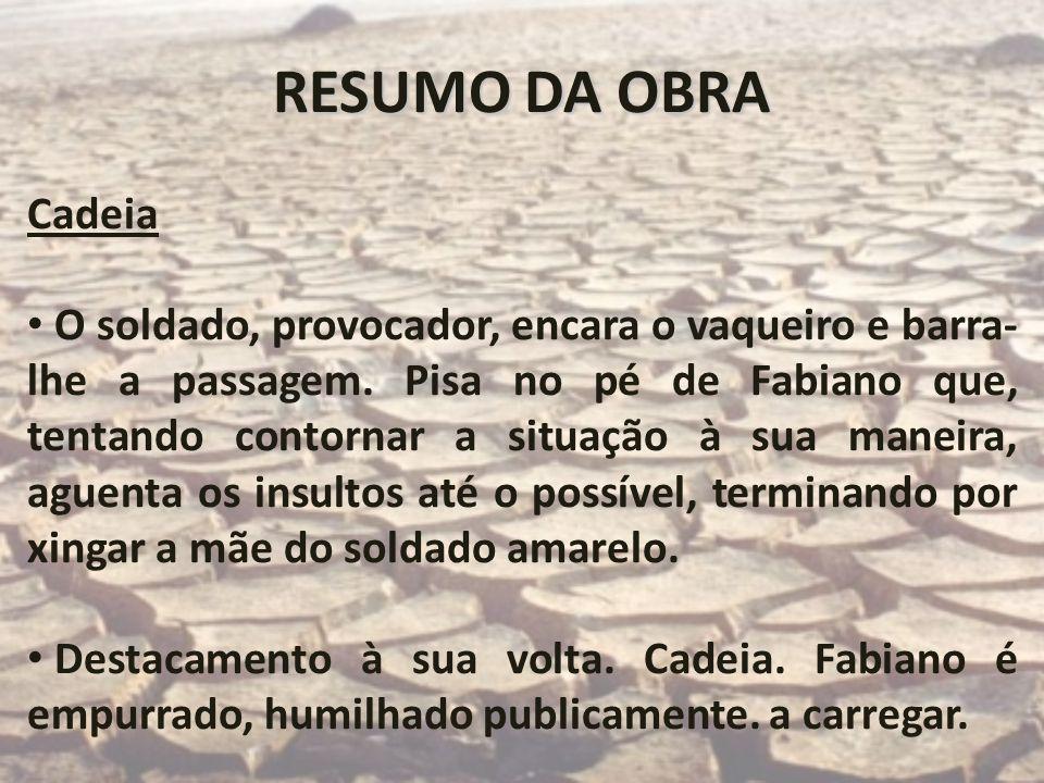 RESUMO DA OBRACadeia.