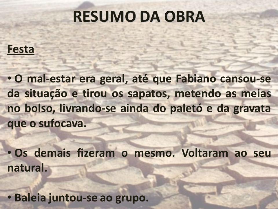 RESUMO DA OBRAFesta