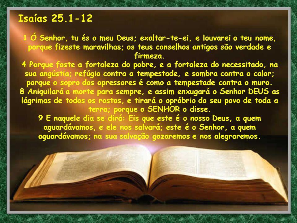 Isaías 25.1-12