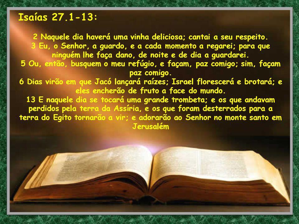 Isaías 27.1-13:
