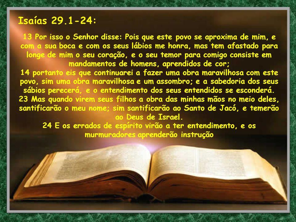 Isaías 29.1-24: