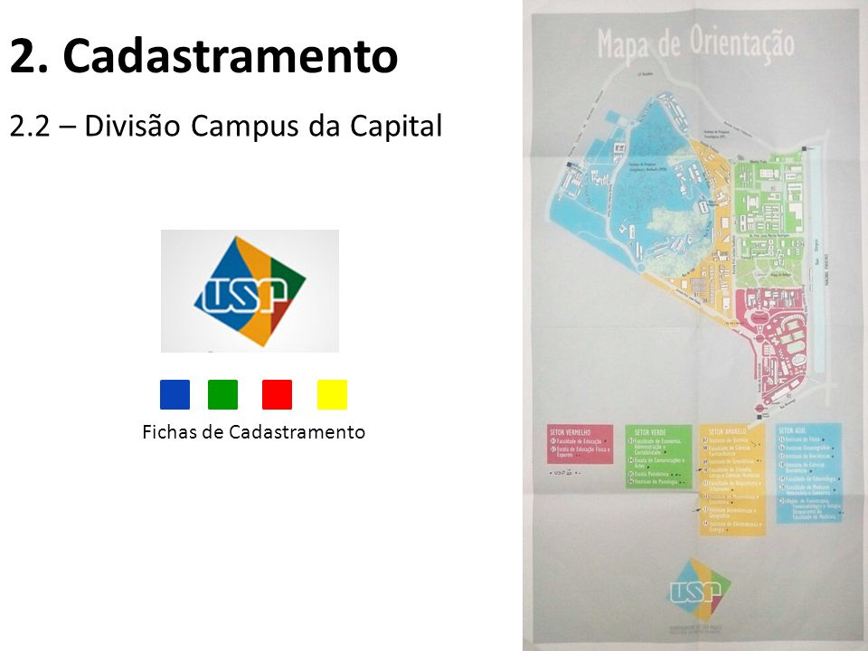 2. Cadastramento 2.2 – Divisão Campus da Capital