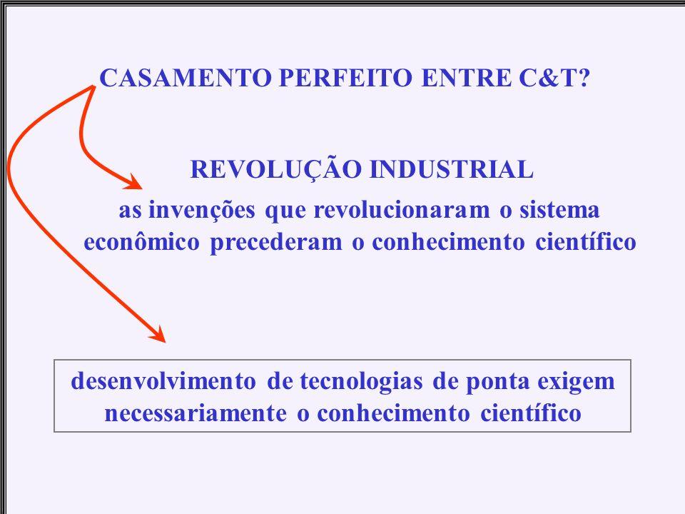 CASAMENTO PERFEITO ENTRE C&T
