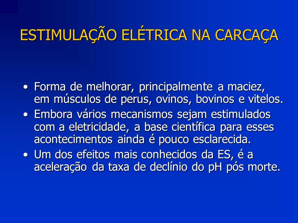 ESTIMULAÇÃO ELÉTRICA NA CARCAÇA