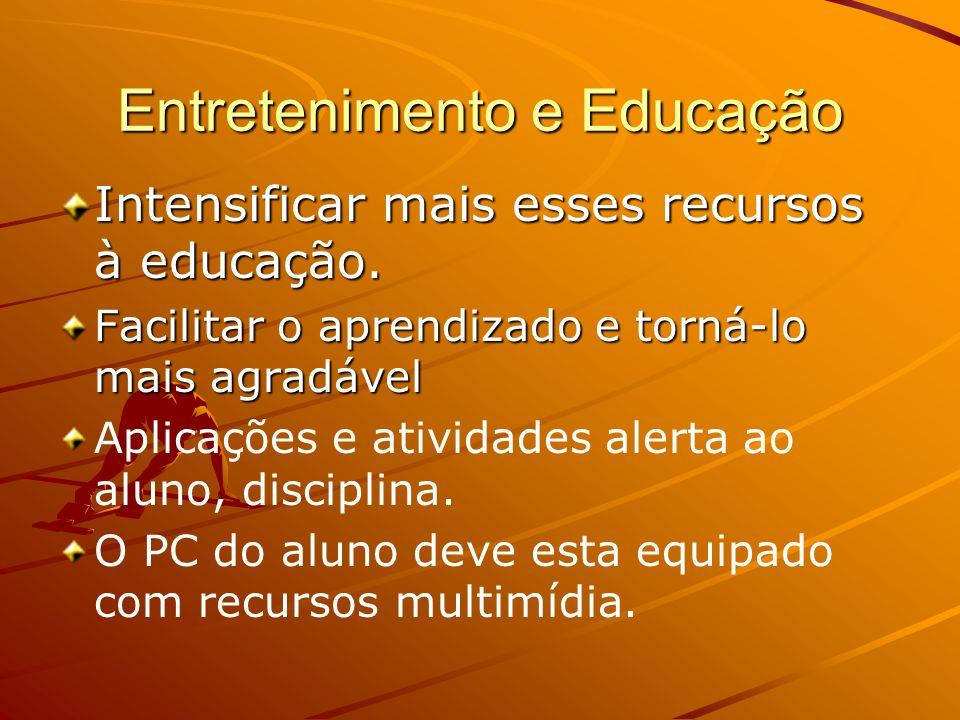 Entretenimento e Educação