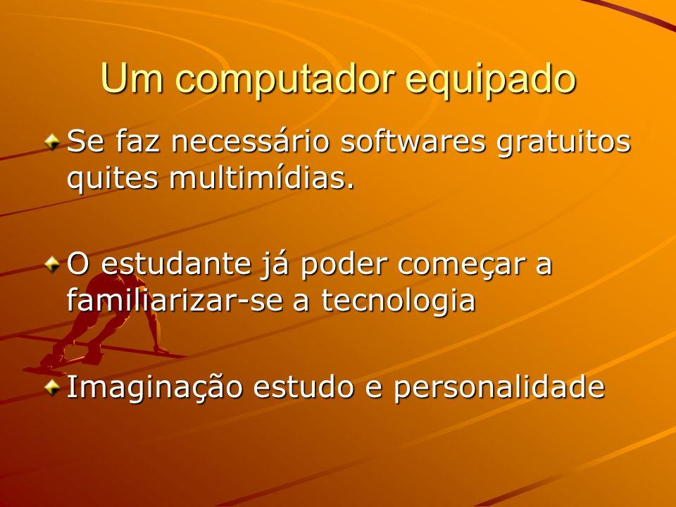 Um computador equipado