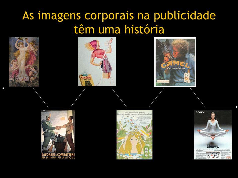 As imagens corporais na publicidade têm uma história