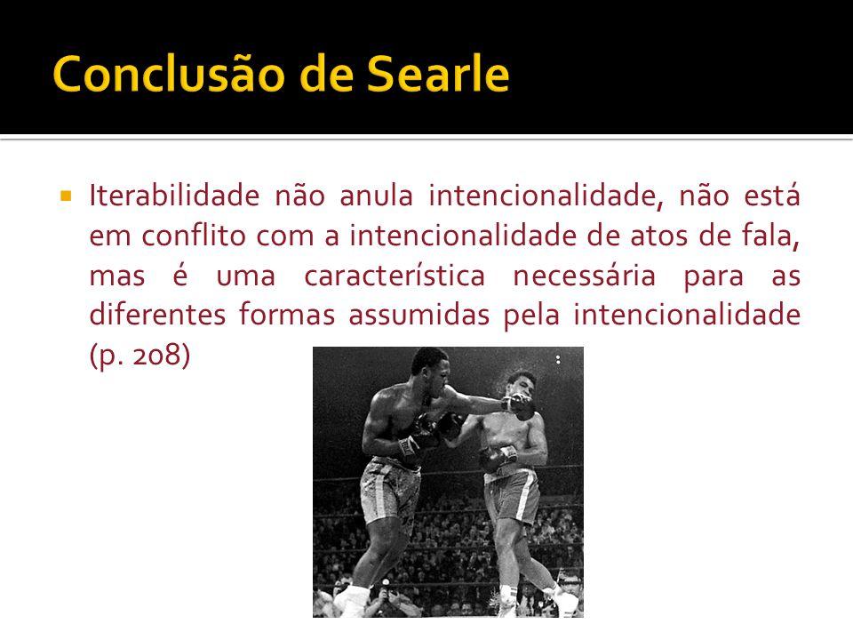 Conclusão de Searle