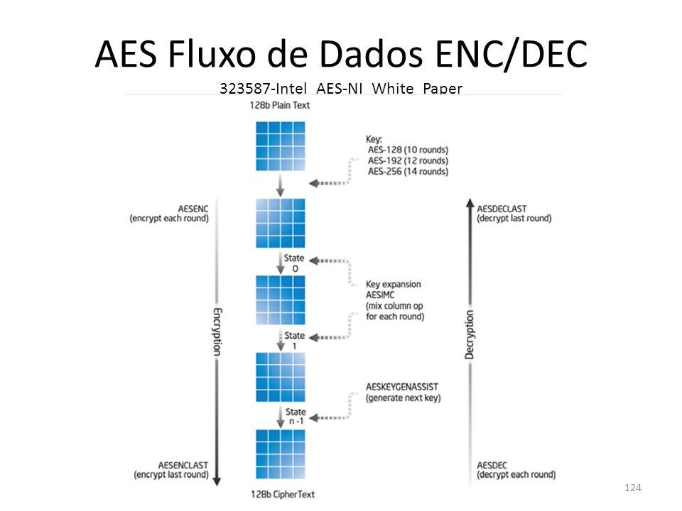 AES Fluxo de Dados ENC/DEC 323587-Intel_AES-NI_White_Paper