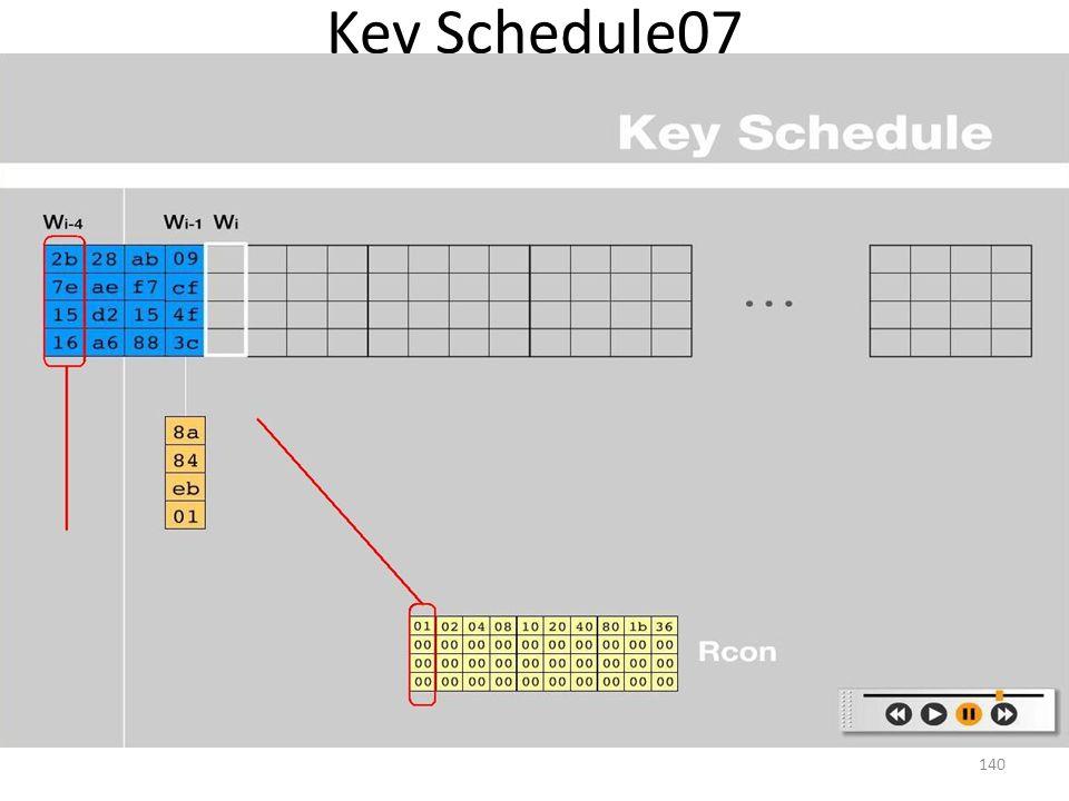 Key Schedule07