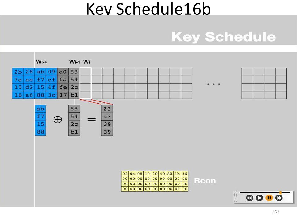 Key Schedule16b