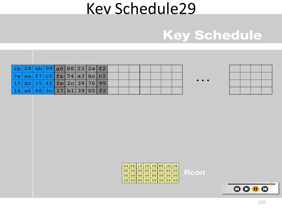 Key Schedule29