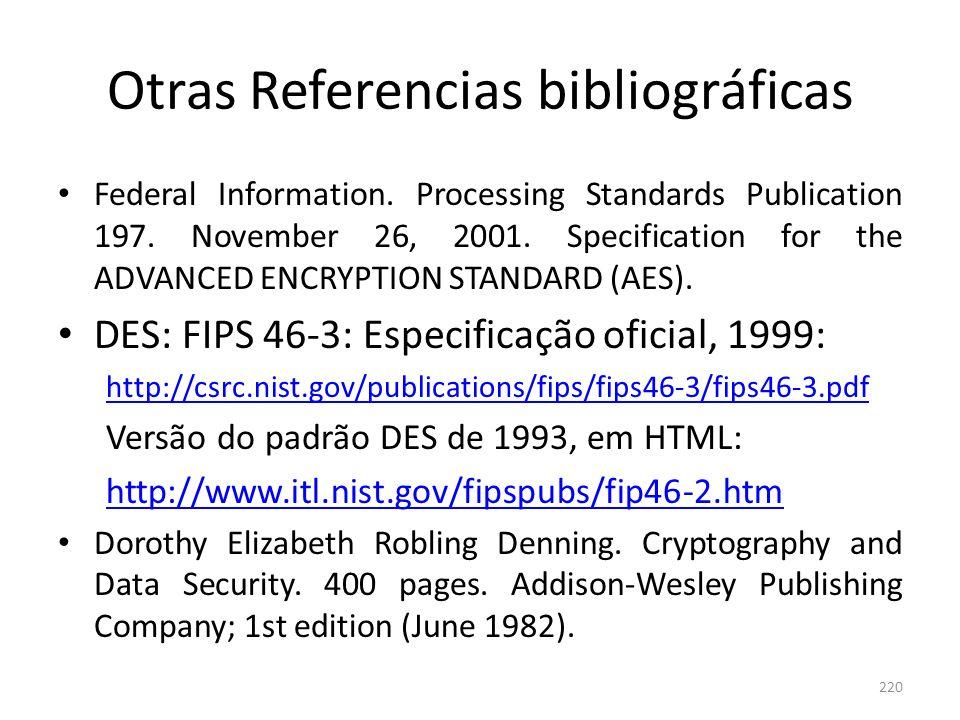 Otras Referencias bibliográficas