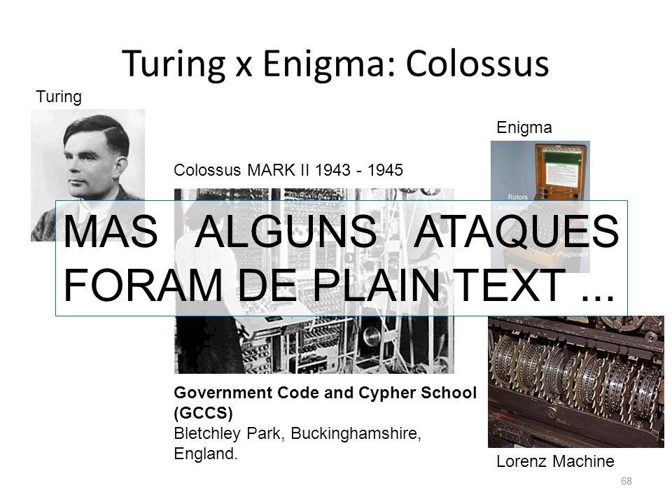 Turing x Enigma: Colossus