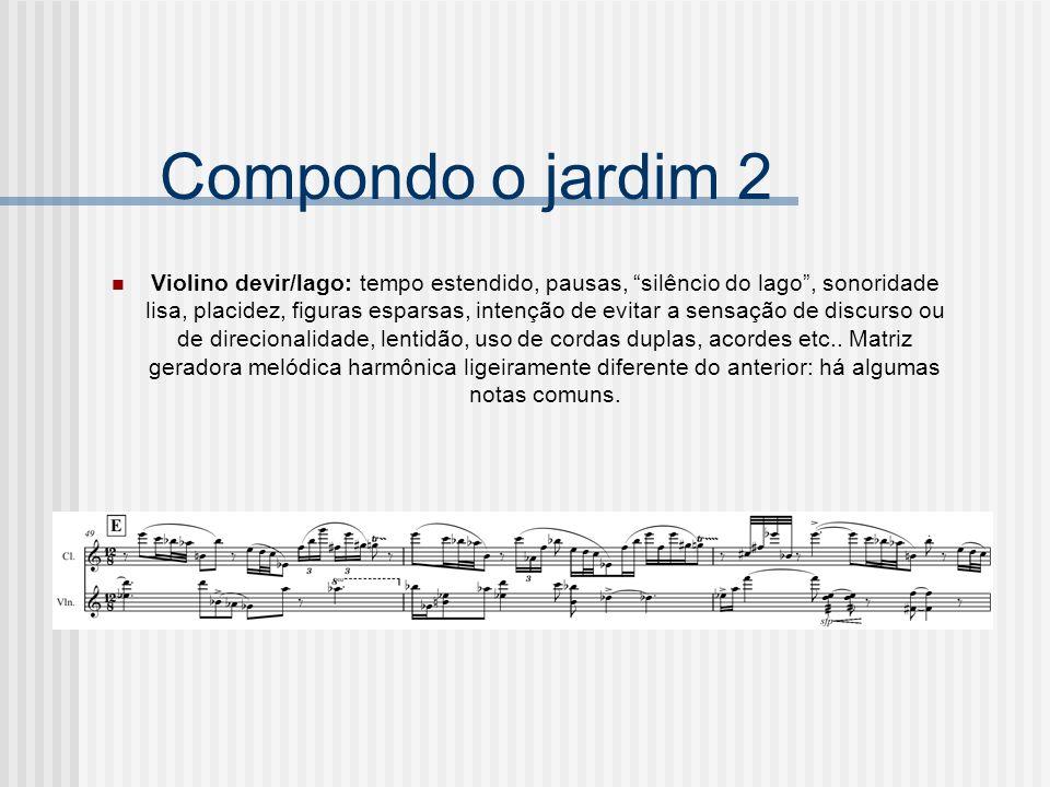 Compondo o jardim 2