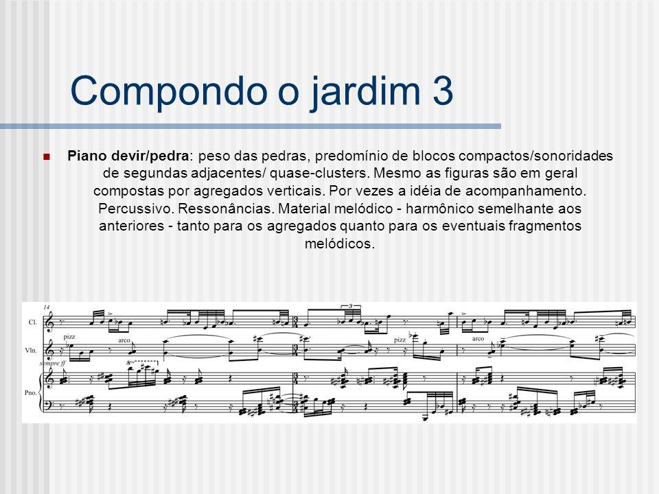 Compondo o jardim 3