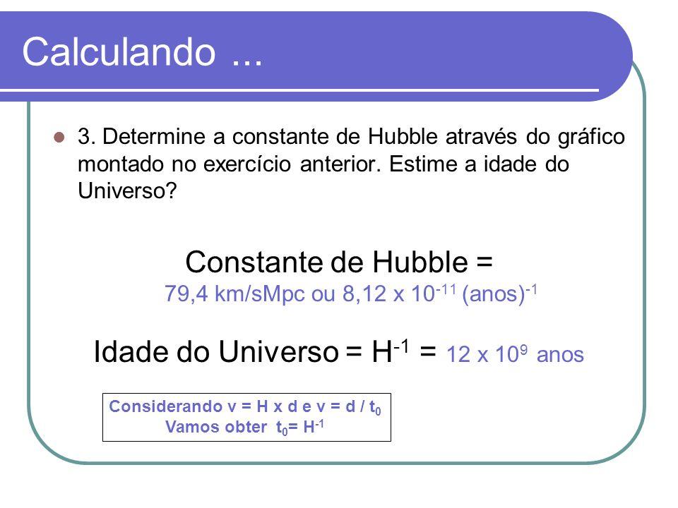 Considerando v = H x d e v = d / t0
