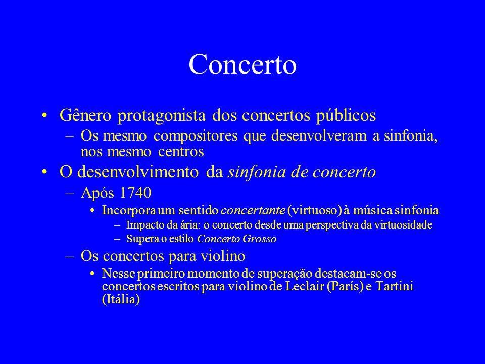 Concerto Gênero protagonista dos concertos públicos