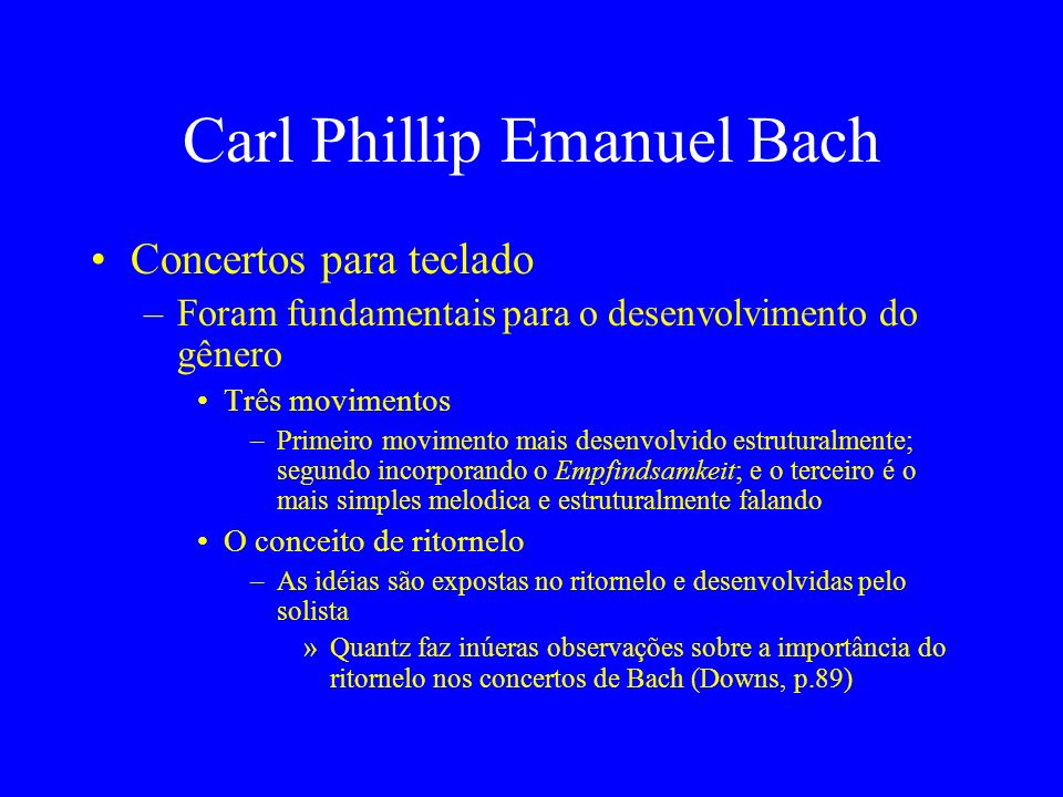 Carl Phillip Emanuel Bach
