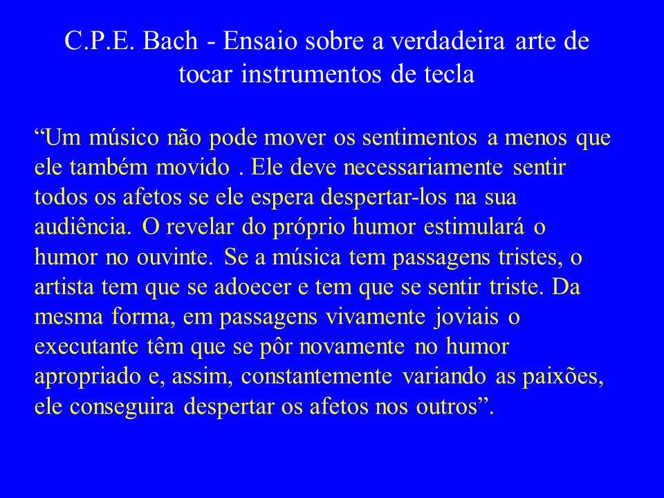C.P.E. Bach - Ensaio sobre a verdadeira arte de tocar instrumentos de tecla