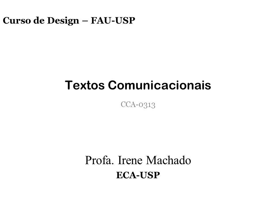 Textos Comunicacionais