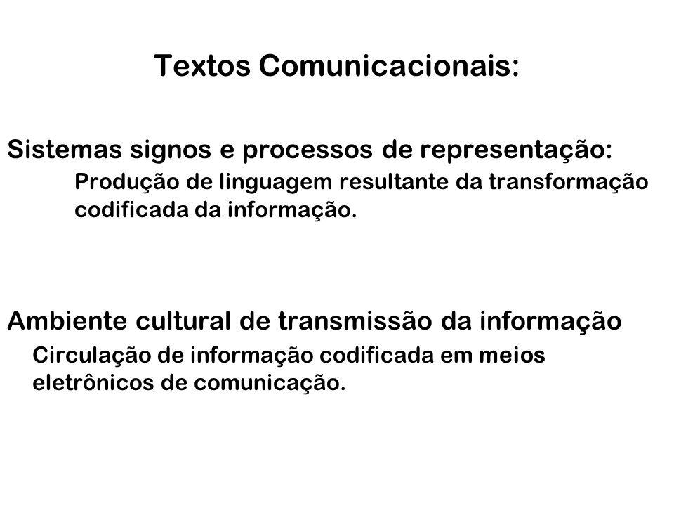 Textos Comunicacionais: