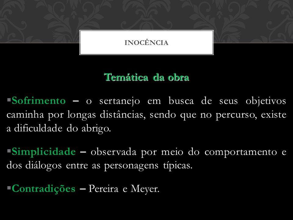 Contradições – Pereira e Meyer.