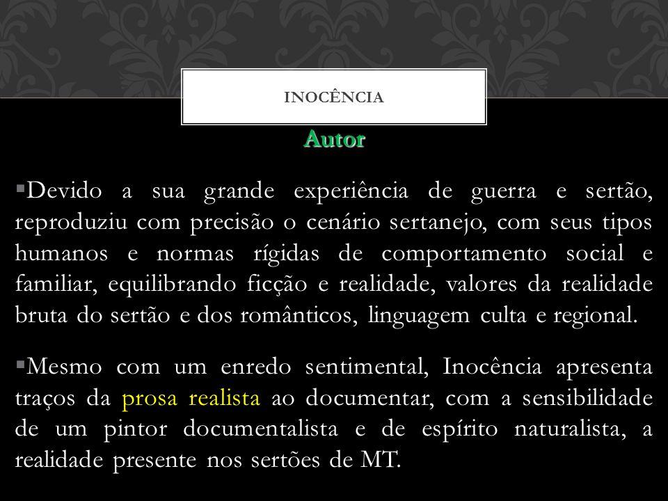 INOCÊNCIA Autor.