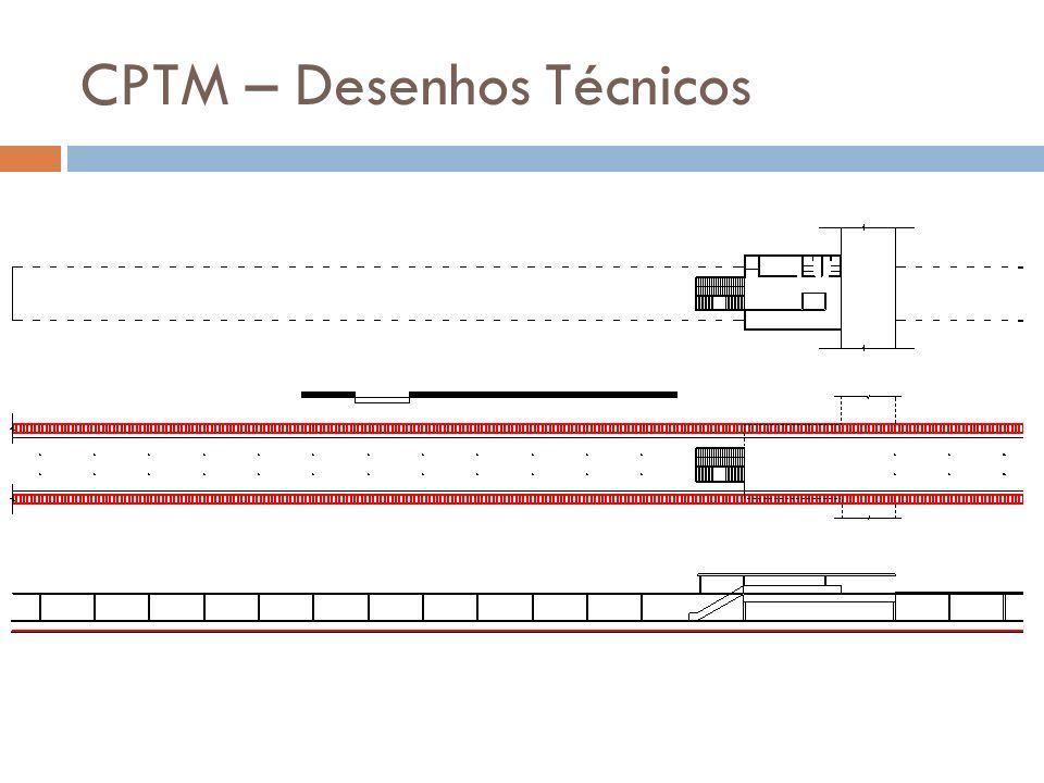 CPTM – Desenhos Técnicos