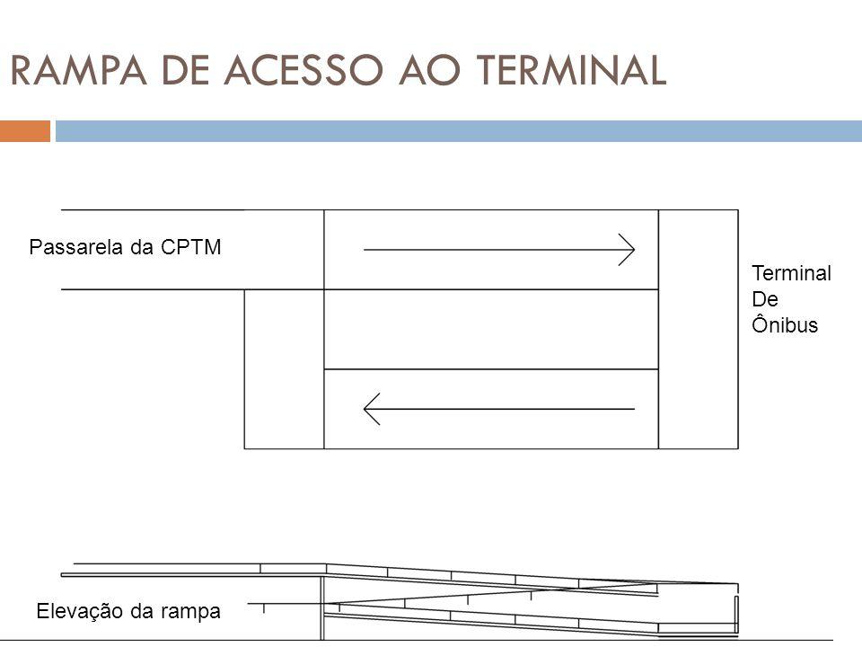 RAMPA DE ACESSO AO TERMINAL