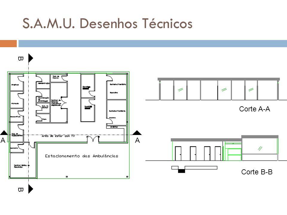 S.A.M.U. Desenhos Técnicos