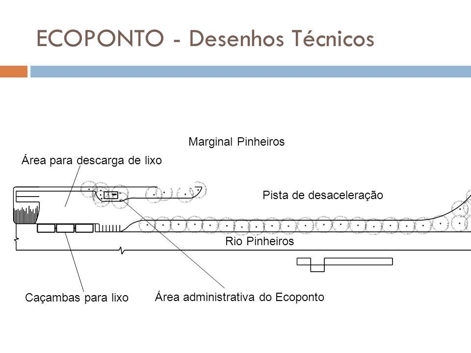 ECOPONTO - Desenhos Técnicos