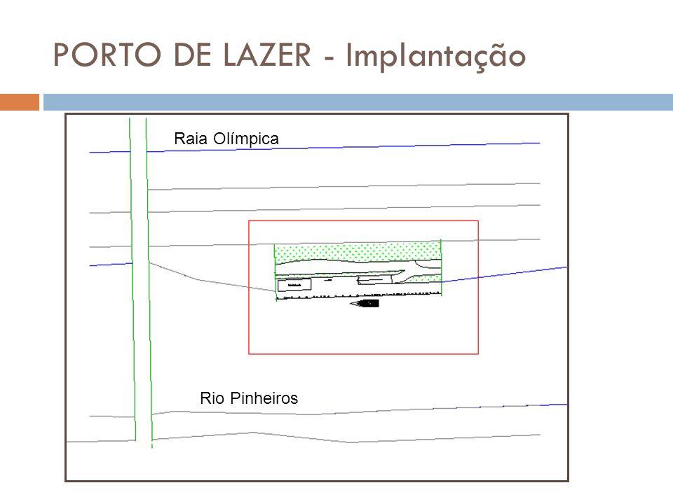 PORTO DE LAZER - Implantação