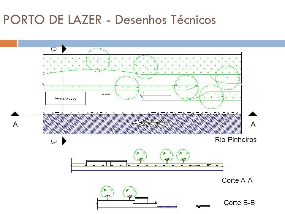 PORTO DE LAZER - Desenhos Técnicos