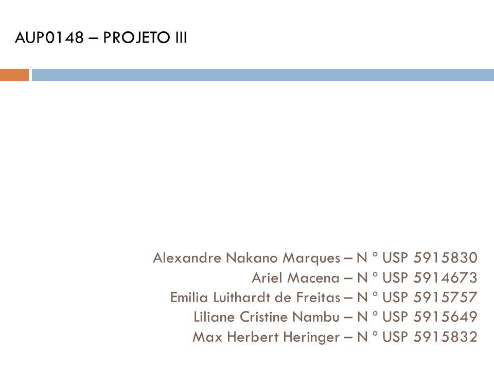 AUP0148 – PROJETO III