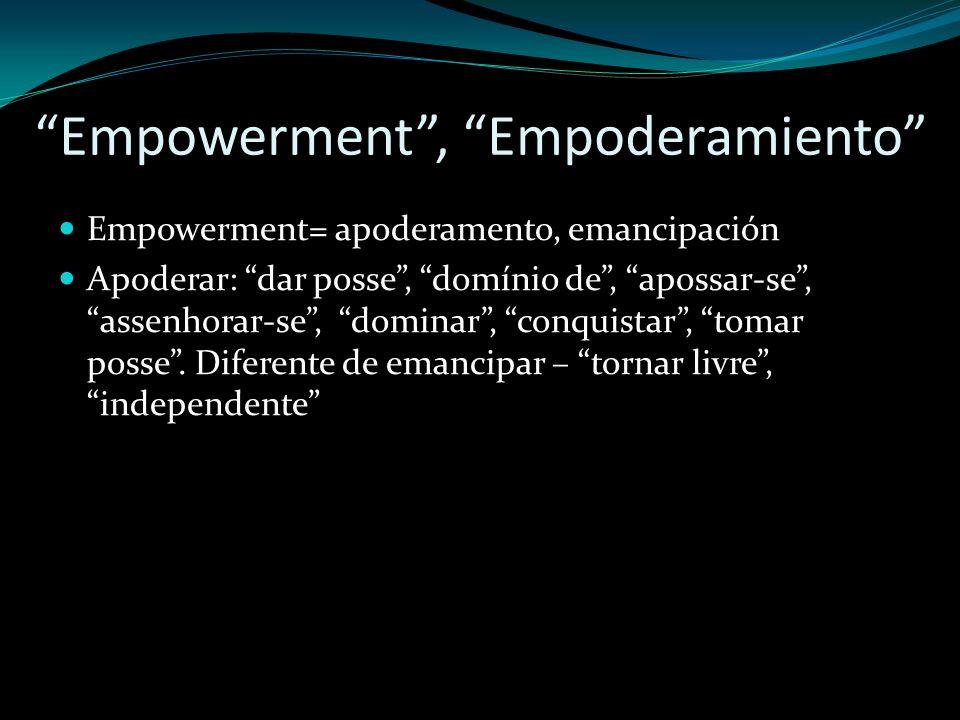 Empowerment , Empoderamiento