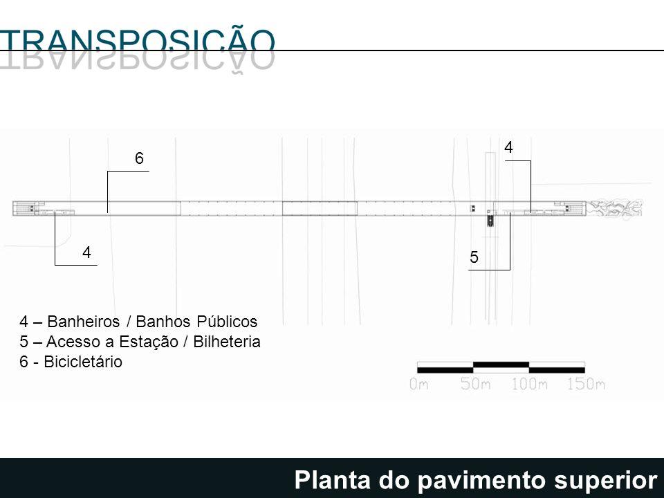 Planta do pavimento superior