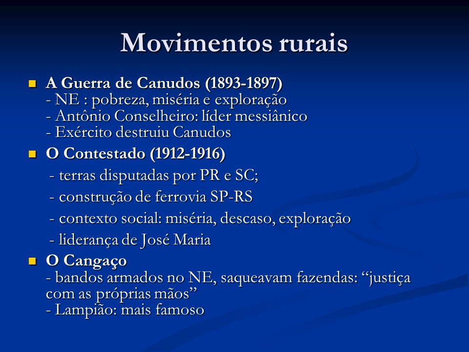 Movimentos rurais