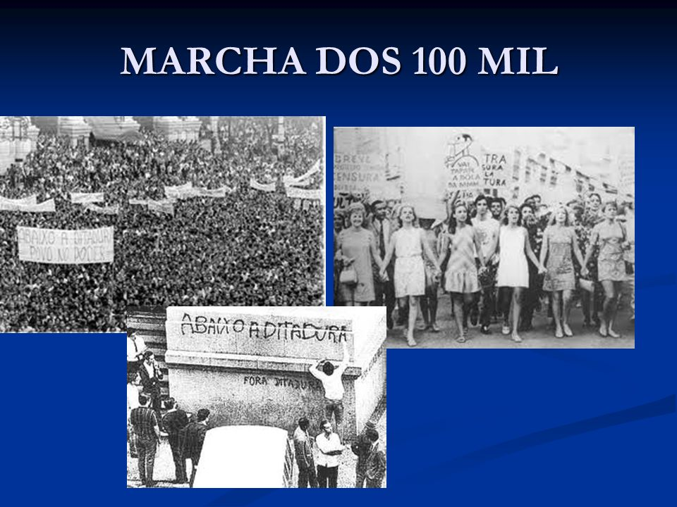 MARCHA DOS 100 MIL