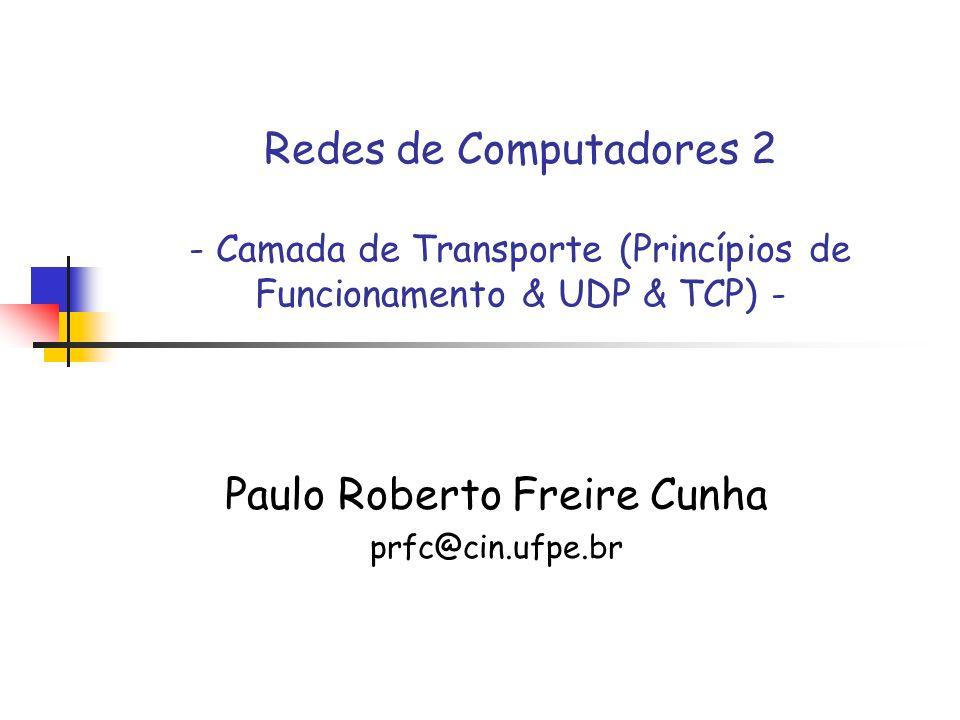 Paulo Roberto Freire Cunha prfc@cin.ufpe.br